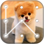 Puppy Dog Pattern Lock Screen icon