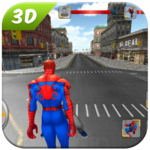Spider SuperHero VS Incredible Monster City Battle for pc logo
