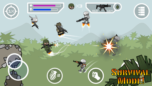 Doodle Army 2 : Mini Militia pc screenshot 2