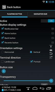 Back Button (No root) pc screenshot 1