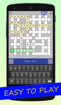 English Crossword puzzle pc screenshot 1