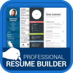 Professional Resume Maker & CV builder- PDF format for pc logo
