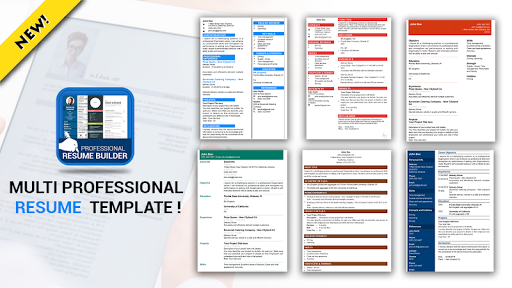 Professional Resume Maker & CV builder- PDF format pc screenshot 2