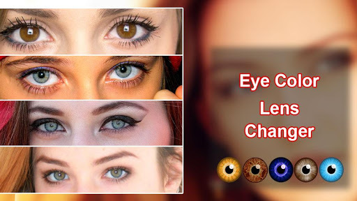 Eye Lens Color Changer Photo Editor pc screenshot 1