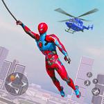 Flying Robot Rope Hero - Vegas Crime City Gangster icon
