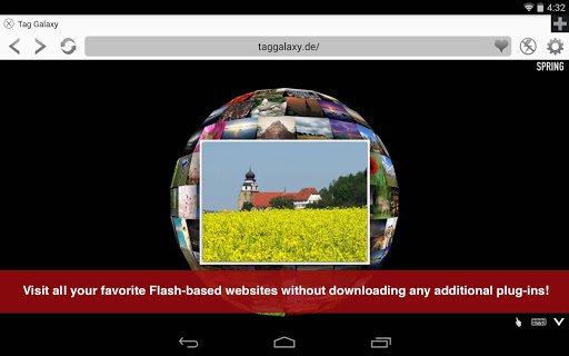 Photon Flash Player & Browser pc screenshot 1