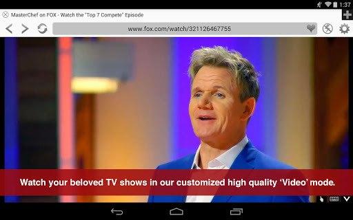 Photon Flash Player & Browser pc screenshot 2