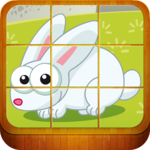 Animal Puzzle Games for Kids icon