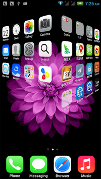 xOS Launcher pc screenshot 1