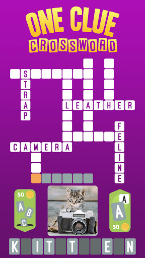 One Clue Crossword PC screenshot 1