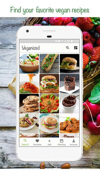Veganized - Vegan Recipes, Nutrition, Grocery List pc screenshot 1