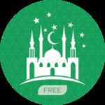 Islamic prayer times & qibla icon