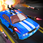 Death Road Race - Car Shooting Game icon