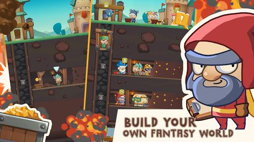 Seven Idle Dwarfs: Miner Tycoon pc screenshot 1