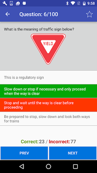 California DMV Practice Test 2018 pc screenshot 2