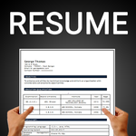 Resume builder Free CV maker templates formats app for pc logo