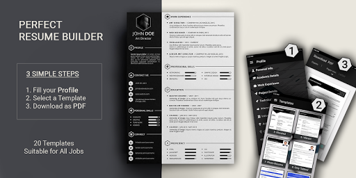 Resume builder Free CV maker templates formats app pc screenshot 1
