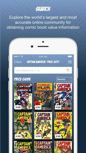 Comics Price Guide PC screenshot 1