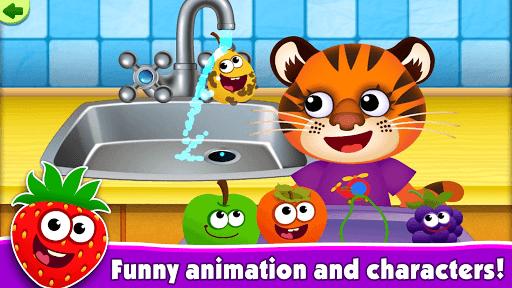 FunnyFood Kindergarten learning games for toddlers pc screenshot 2