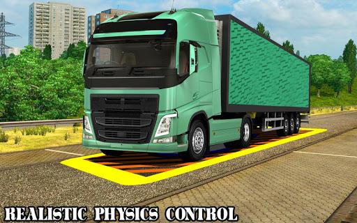 Speed Parking Truck Simulator :Truck Driving 2018 pc screenshot 1