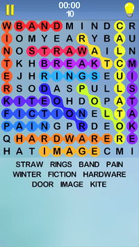 Word Search Puzzle, A Free Infinity Crossword Game pc screenshot 1