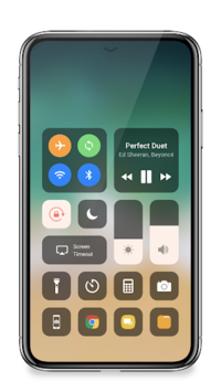 Control Center IOS 12 - Control Center pc screenshot 1