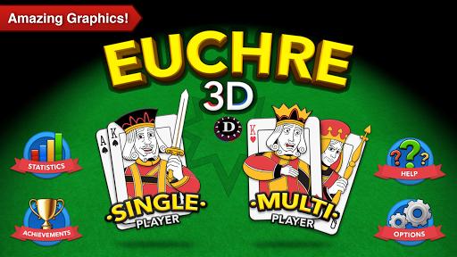 Euchre 3D pc screenshot 1