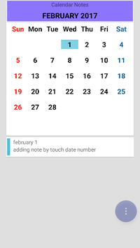 Calendar Notes pc screenshot 2