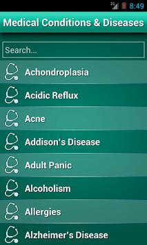 Diseases Dictionary ✪ Medical pc screenshot 1