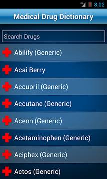 Drugs Dictionary Offline: FREE pc screenshot 1