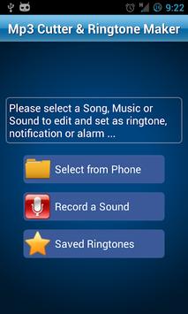 MP3 Cutter and Ringtone Maker♫ pc screenshot 1