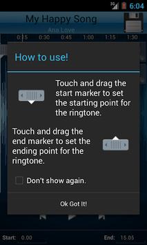 MP3 Cutter and Ringtone Maker♫ pc screenshot 2