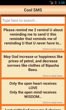 SMS Messages Collection: FREE! pc screenshot 2