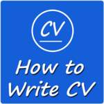 How to Write CV icon