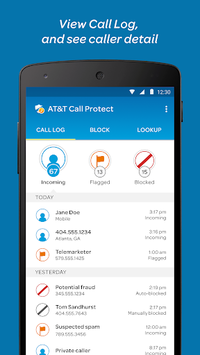 AT&T Call Protect pc screenshot 2