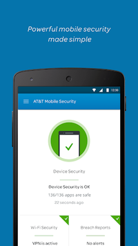 AT&T Mobile Security pc screenshot 1