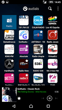 Radio Player, MP3-Recorder by Audials pc screenshot 1