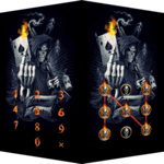 Devil Death Skull Theme – AppLock icon