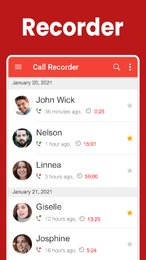 Call Recorder - Automatic Call Recorder Free (ACR) PC screenshot 1