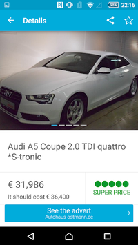 AutoUncle: Used car search, compare prices pc screenshot 2
