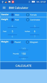Body Mass Index BMI Calculator pc screenshot 1