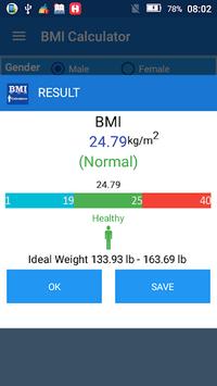 Body Mass Index BMI Calculator pc screenshot 2