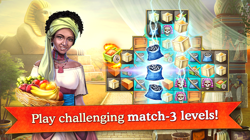 Cradle of Empires Match-3 Game pc screenshot 1