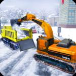 Snow Rescue Excavator Crane PRO icon
