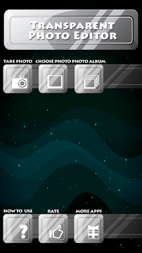 Transparent Photo Editor pc screenshot 1