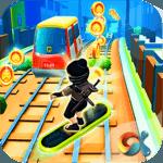 Ninja Subway Surf: Rush Run In City Rail icon