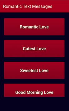 Romantic Text Messages pc screenshot 1