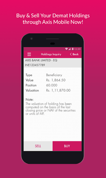Axis Mobile- Fund Transfer,UPI,Recharge & Payment pc screenshot 2