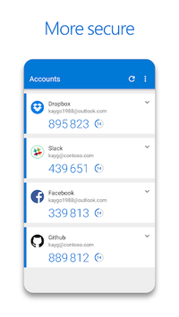 Microsoft Authenticator pc screenshot 1