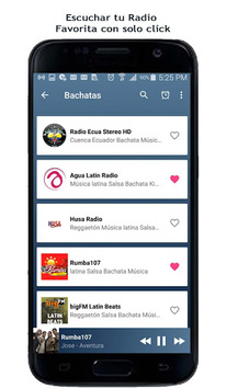 Bachata Radio pc screenshot 2